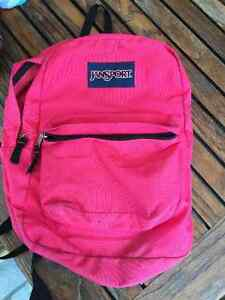 Jan Sport Hot Pink School Bag