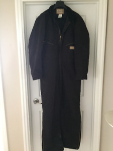 C.E. SCHMIDT DUCK QUILTED, LINED INSULATED COVERALLS