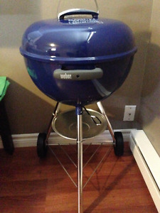 Weber BBQ charcoal grill