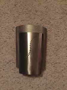 2 Silver Wall Sconces