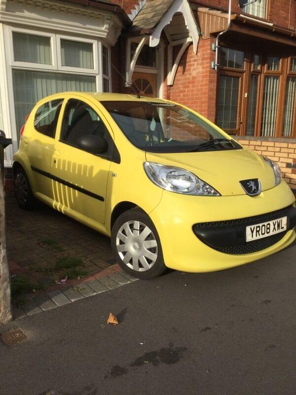 2008 (08) Peugeot 107 1.0 12v Urban 5 Door £20 Road Tax