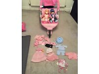 Baby Born, pram and accessories