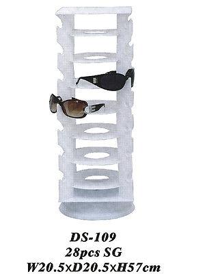 Brillenständer Brillenaufsteller f. 28 Sonnenbrillen Display Tischdisplay DS109