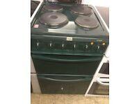 Dark Green 50 cm Electric Cooker and lot more other white goods