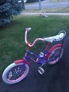 Girl's Banana Bike