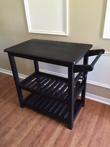 Wood Side Accessory Table