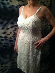 Vintage Hand-beaded Zimble Dress
