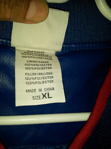 Men's Washington Capitals blue red jacket Size XL Brand new London Ontario image 7