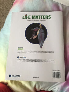 *TEXTBOOK* Life Matters: Connecting Biology to Your World Windsor Region Ontario image 2