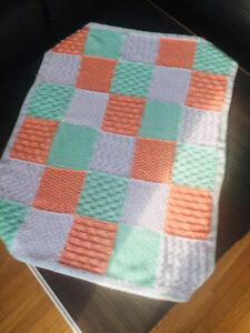 New HAND MADE baby blanket