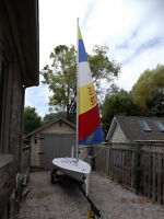 LASER SAILBOAT reconditioned! SOLD!!!