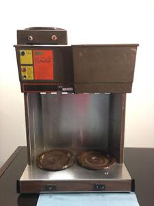 hot coffee brewery drip coffee machine