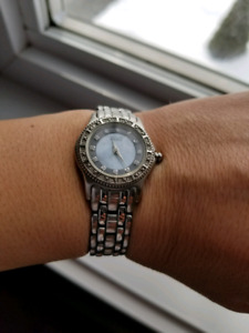 Women's watch eco-drive Stainless steel and diamond