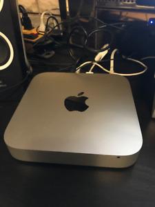 Mac mini 2012 4g ram 120 Gb ssd 500 Gb back up external drive