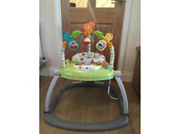 Space saver jumperoo