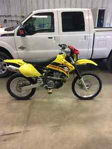 2001 DRZ400 electric start with  Yoshimura pipe