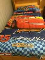 Disney Mcqueen and Mater 4-pc Bed set