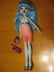 MONSTER HIGH DOLLS 9 GHOULIA YELPS dolls and ABBEY ART CLASS