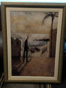 Two Mexican themed pictures by Ren-Wil Inc. - $20 (Clayton)