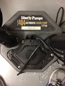 Liberty Pumps - Model 404 Automatic Drain Pump 1/3 hp
