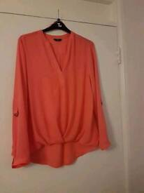 Coral ladies shirt
