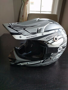 Youth Dirt Bike/BMX helmet - Zox Youth Large with Scott goggles