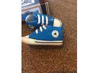 Converse baby shoes size 4 soft