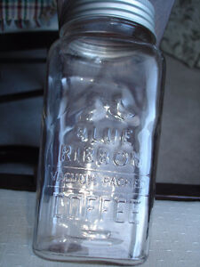 SEALERS: BLUE RIBBON COFFEE JARS, VINTAGE AND GREAT STORAGE JARS London Ontario image 2