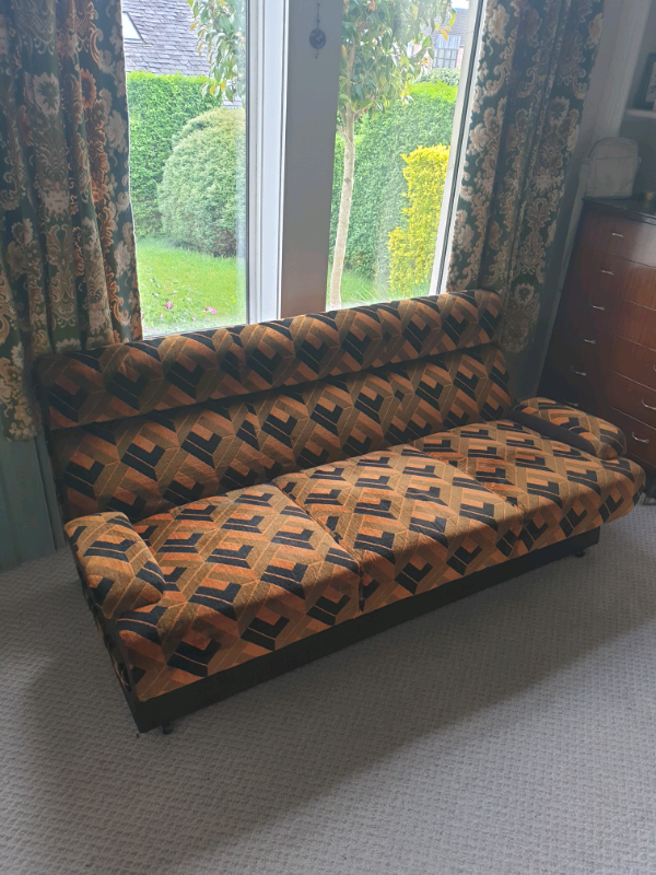 Mid Century Retro Sofa Amp Chairs 1960s In Helensburgh