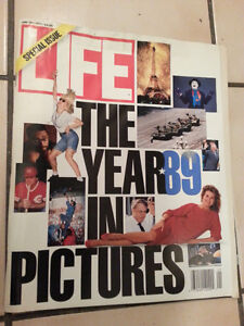 Life magazine, Jan 1990 (1989: The Year in pictures)