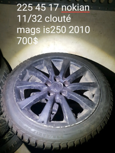 225/45/17 mags lexus is250 2010