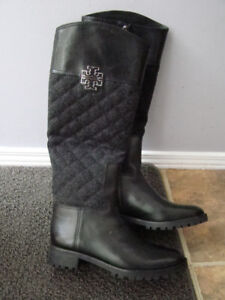 Tory Burch Fabulous Ladies Boots. Worn One Time- Too tall .
