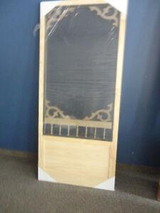 Porte moustiquaire bois achetez ou vendez des biens billets ou gadgets technos dans qu bec - Porte de garage a vendre ...