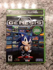 Sonic's Genesis Collection for XBox360