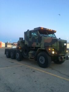 1992 Oshkosh HET Military Tank Transport 8 x 8