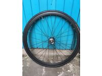 Novatec wheels fixed gear fixie project bike continental tyres