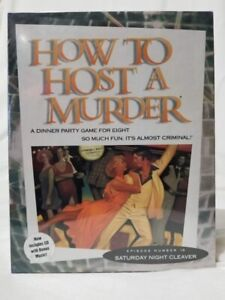 How To Host A Murder  Saturday Night Cleaver - New Unopened