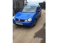 vw polo 1.2 mpi 3 cylinder ( for parts )