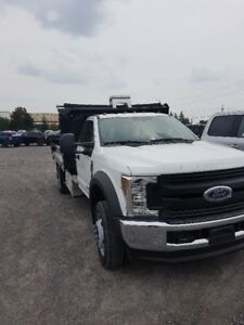 2019 F550 Regular Cab 4x4 19500 lbs GVWR with Dump Body