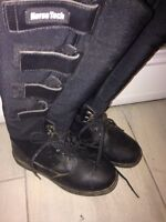 Horse Tech winter horse back riding boots size 7.