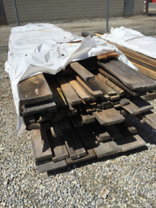 Rough Cut Wood Boards LUMBER PILE – SELL OFF