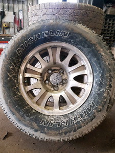 Rims and tires ford f-150 17""