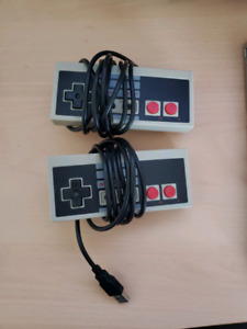 2 NES USB controllers