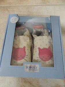 Girls Robeez 6-12 months - Cosmic Kitty - New in Box