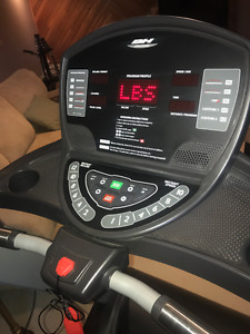 BH Fitness Treadmill- barely used
