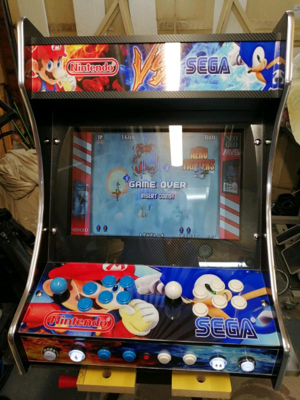 2 player bartop arcade machine   in Eastwood, Nottinghamshire   Gumtree