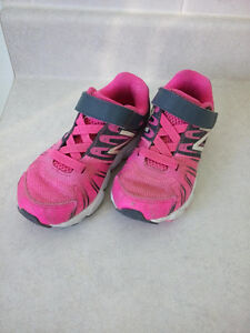 New Balance girl running shoes, size 11