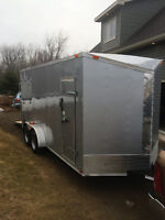 Save Thousands....2015, 16 Feet Enclosed Cargo Trailer