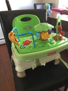 Fisher price rainforest dining chair