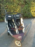 Double bob jogging stroller
